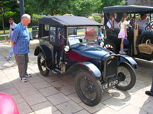 Herbert Austin, 1st Baron Austin - Austin by Herbert Austin 7 Chummy, 1928 example