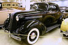 1936 Pontiac Master Six Coupe