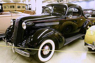 Pontiac - 1936 Pontiac Master Six Coupe