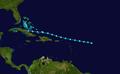 1945 Atlantic tropical storm 4 track.png