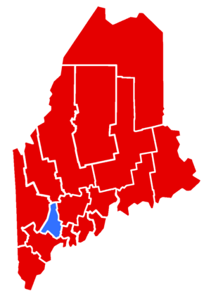 Maine gubernatorial election, 1952 - Image: 1952Maine Gubernatorial