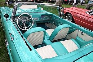 Ford Thunderbird (second generation) - 1959 Ford Thunderbird interior