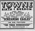 1960 - Towne Theater Ad - 24 Aug MC - Allentown PA.jpg