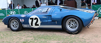 Ford GT40 - Prototype chassis GT 104, which finished third at the Daytona 2000 in 1965