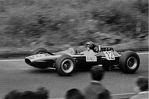1965 German Grand Prix - Jochen Rindt in a Cooper T77.