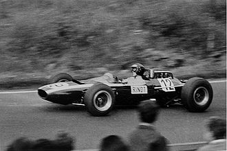 Jochen Rindt - Rindt on his way to fourth place at the 1965 German Grand Prix