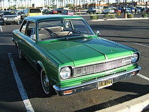 Rambler American - Third generation: 1967 2-door sedan