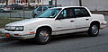 1991 Oldsmobile Cutlass Calais 4-door Quad 4, fL.jpg