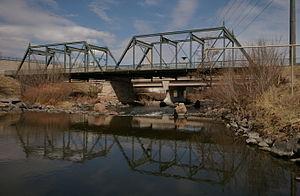 Missouri Valley Bridge & Iron Co. - 19th Street Bridge, from 1888, now a pedestrian bridge