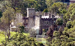 Castle Cove, New South Wales - Innisfallen Castle as seen from Middle Cove