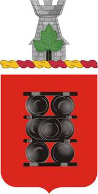 1st Field Artillery Regiment (United States) - Coat of arms