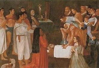 Our Lady of San Juan de los Lagos - Fresco