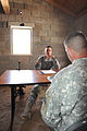 1st Lt. Brian Keller conducts counseling training (7650800334).jpg