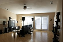 Home theatre projection tv
