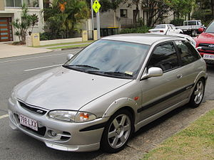 PROTON Holdings - The Proton Satria GTi, widely regarded as the best Proton car ever produced.