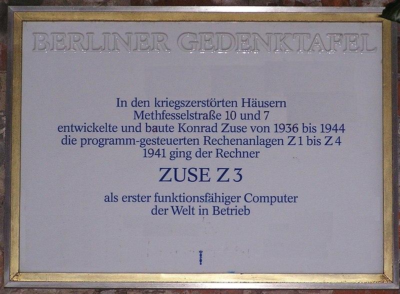 2007-01-20 Gedenktafel Zuse Z3.jpg