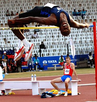 Track and field at the 2007 Military World Games - Gregory Roberts in the high jump competition
