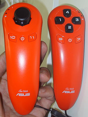 Asus Eee - Asus Eee Stick in red
