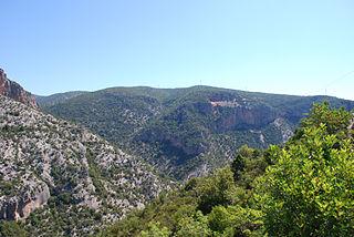 mountain range in Peloponnesos, Greece