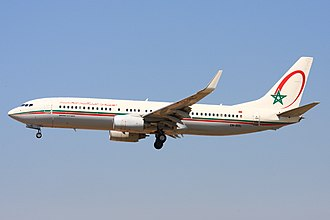 Royal Air Maroc - Royal Air Maroc Boeing 737-800
