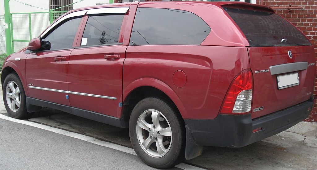 File20101003 Ssangyong Actyon Sports 2g Wikimedia Commons