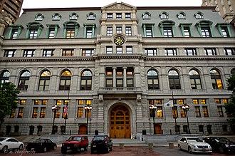 Boston Municipal Court - Image: 2010 Adams Courthouse Boston 4765611709