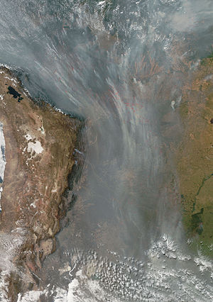 2010 Fires in South America