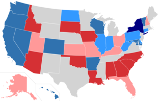 詳しくは「United States Senate elections, 2010]を参照