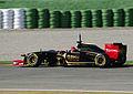 2011 Robert Kubica testing in Valencia in Renault R31.jpg