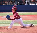20120320 Daisuke Kato,pitcher of the Tohoku Rakuten Golden Eagles,at Yokohama Stadium.JPG