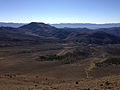 2014-10-19 09 14 49 View east-southeast across the upper end of Meadow Canyon from about 9740 feet along a trail north of Jefferson Summit, Nevada.JPG