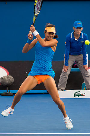 WTA Auckland Open - Ana Ivanovic of Serbia was the 2014 singles champion