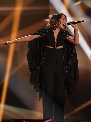 I'm Alive (Elhaida Dani song) - Elhaida Dani performing the song at Eurovision Song Contest 2015, representing to Albania.