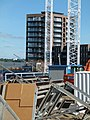 2015 London-Woolwich, Waterfront construction site 06.jpg