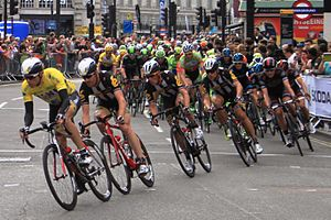 2015 Tour of Britain stage 8 - lap 03 Edvald Boasson Hagen and Team MTN Qhubeka.JPG