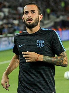 Aleix Vidal - the handsome, talented,  football player  with Spanish roots in 2018
