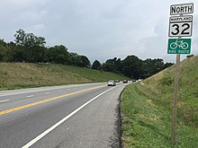 Maryland Route 32 - Wikipedia