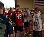 2016 NFL visit Soto Cano firehouse.jpg