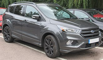 Ford Kuga - Image: 2017 Ford Kuga ST Line X TD Ci 4x 4 Automatic 2.0 Front