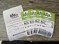 2018-08-29 (215) Tickets of Rax-Seilbahn, Rax, Austria.jpg