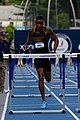 2018 USATF Outdoor National Championships SPC Marcus Maxey- first round of the men's 110m hurdles (29103603148).jpg