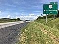 2019-06-06 16 03 03 View north along Interstate 81 at Exit 243 (U.S. Route 11, Harrisonburg) in Harrisonburg, Virginia.jpg