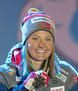 Ingvild Flugstad Østberg Norwegian cross-country skier