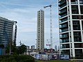 2019 Woolwich, West Quay construction site 03.jpg