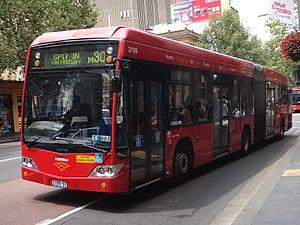 Metrobus (Sydney) - Sydney Buses Custom Coaches bodied Volvo B12BLEA.