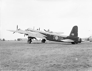 No. 214 Squadron RAF - Retired 214 Squadron Stirling at RAF Stradishall.