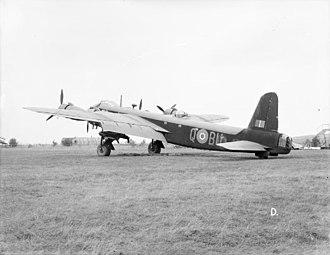 No. 214 Squadron RAF - Retired 214 Squadron Stirling at RAF Stradishall.