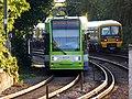 2537 at Beckenham Junction passes 465005 to Victoria - 14571769232.jpg