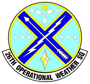 26th Operational Weather Squadron - 26th Operational Weather Squadron Patch