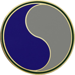 29th Infantry Division (United States) combat formation of the United States Army